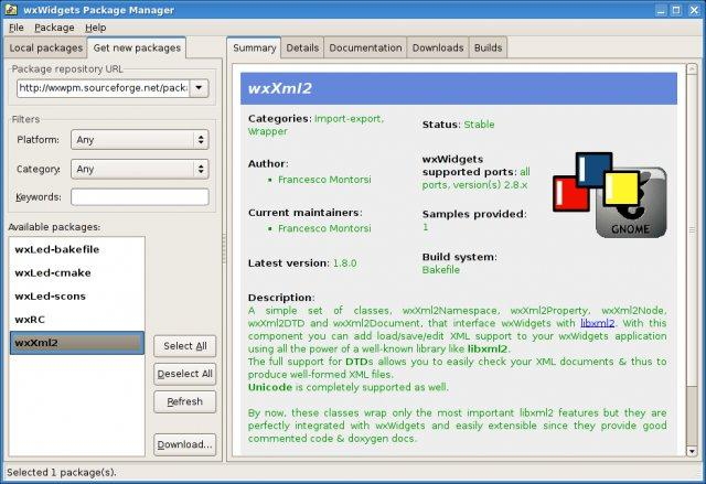 wxwidgets_package_manager