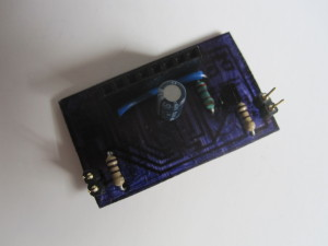 Populated TCS3200 module