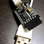 USB-to-TTL breakout, based on FTDI, used to program and communicate with Arduino, etc.