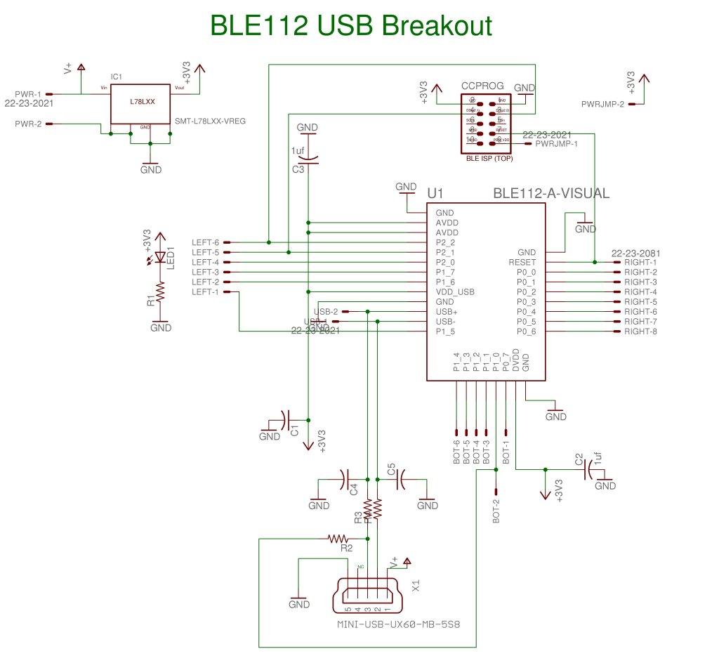 diy ble112 breakout board  u2013 flyingcarsandstuff com