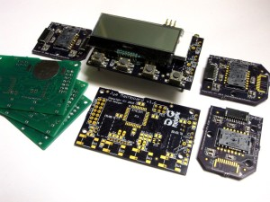 Jya Sensors and Mainboard