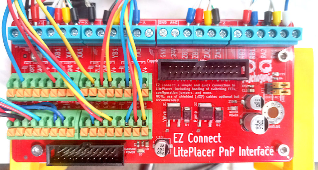 Pick and Place interface board